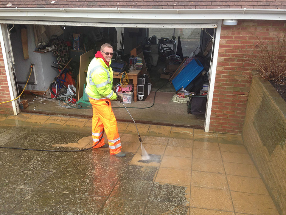 Pressure washing company East Sussex